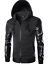 New-Men-039-s-Coat-Casual-Hooded-Outwear-PU-Leather-Patchwork-Hoodies-Jacket
