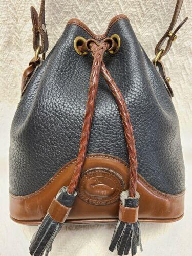 Vintage Dooney & Bourke Small Bucket Bag