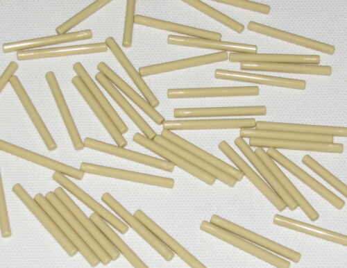 LEGO LOT OF 50 NEW TAN STAR WARS LIGHTSABER BLADES 4L BARS WANDS PIECES
