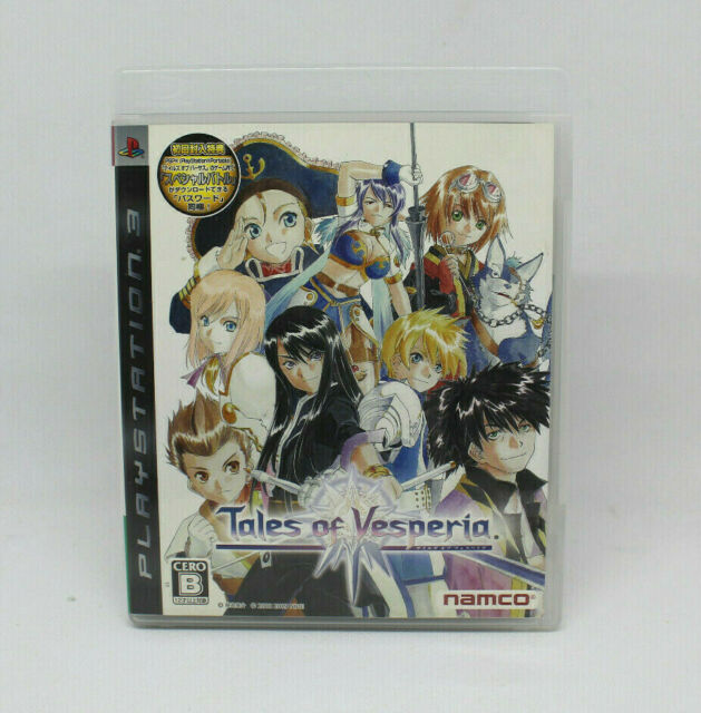 Sony PS3 PLAYSTATION - Tales Of Vesperia Namco Japanese Version