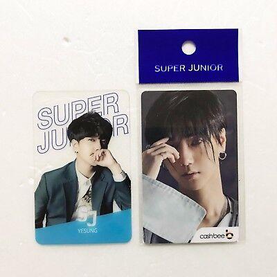 SM Town Super Junior x 7-Eleven Collaboration SM Artist Cashbee Card (Yesung)