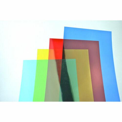 Peak Dale A4 Coloured Acetate 200 Micron 4  Colour Pack 4 Sheets