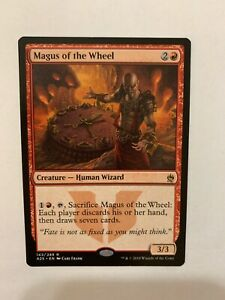 1x MAGUS OF THE WHEEL Human Wizard NM Magic the Gathering Commander MTG