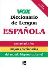 VOX Dictionary: Vox Diccionario de Lengua Española by Vox Staff (2008,...