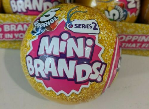 Brand New Sealed 100/% Authentic! 1 Zuru 5 Surprise Mini Brands Series 2