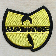 WU TANG CLAN BAND HIP HOP MUSIC EMBROIDERY IRON ON PATCH BADGE