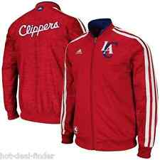 ADIDAS LOS ANGELES CLIPPERS SIZE 4XL XXXXL RED FULL ZIP TRACK JACKET