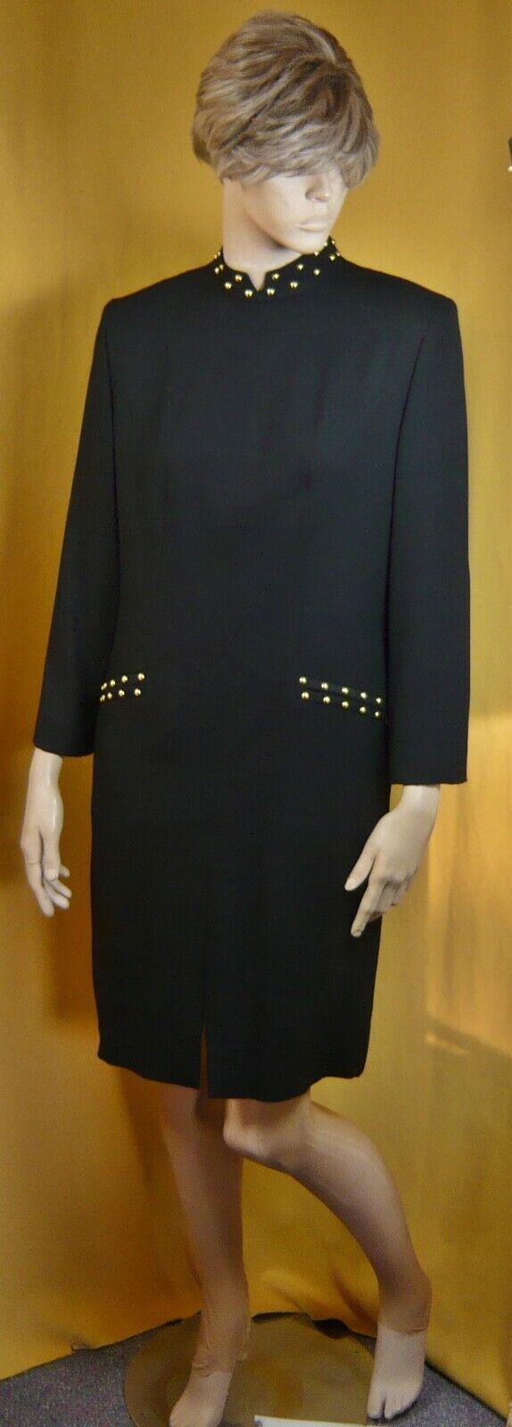 Guy Laroche nostalgische Kleid - Haute Cuture - Vintage - Gr. 42  15820