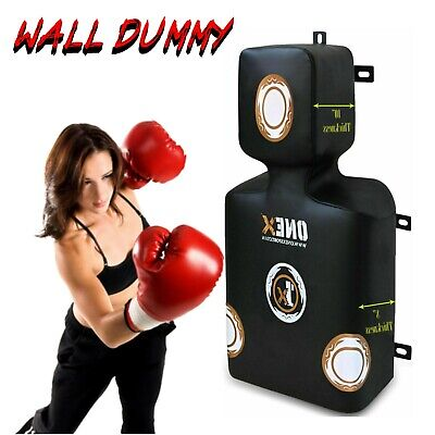 Upper Cut Wall Dummy Punch Bag Boxing MMA Mount Punching Bag Gym Body Training