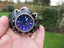 ZODIAC ZMX-05 ZO855 OCEANAIRE 200M DIVERS ULTIMATE CHUNKY LOVELLY BLUE DIAL VGC