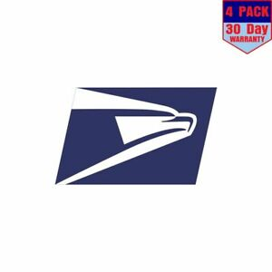 Us-Post-Office-Mail-Carrier-Usps-Eagle-Pick-4-pack-4x4-Inch-Sticker-Decal