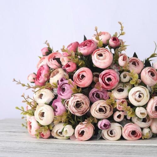 Artificial Ranunculus Bouquet