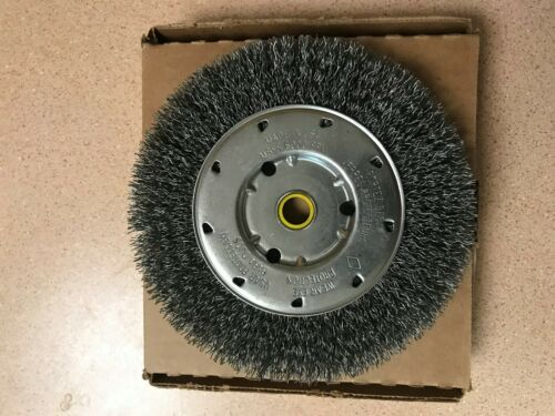 "Lot of Osborn 6/"" x 5//8-1//2 Radial .014 Crimped Wire Wheel Code 21704 6000RPM 2"