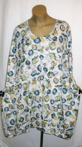 Ecru Balloon Dress Multicolore 3 54 Lagenlook Bras 4 Robe 50 Shirt Ophilia 52 4xA8qw5