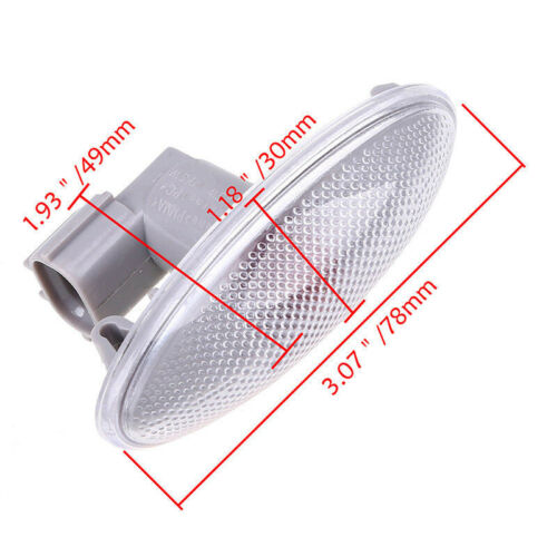 1pcs Side Turn Signal Lamp Fender Light Fit For Toyota Corolla//Camry//Yaris//RAV4