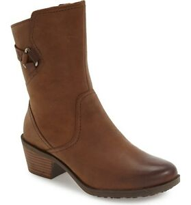 50-OFF-NEW-1012463-TEVA-WOMEN-039-S-FOXY-MID-LEATHER-BOOTS-SZ-7-BROWN