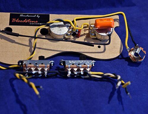 Ready Built Fender Mustang Wiring Upgrade Loom Harness Kit