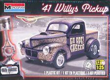 Revell Monogram 1941 Willys Pickup Gasser Plastic Model Kit 1/25