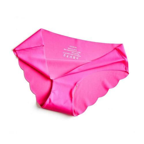 Frauen weiche Unterhosen nahtlose Dessous Slips Low-Waist Unterwäsche Höschen