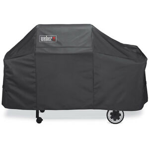 New-7552-Premium-Black-Grill-Cover-Protector-Fits-For-Weber-Genesis-Gas-Grills