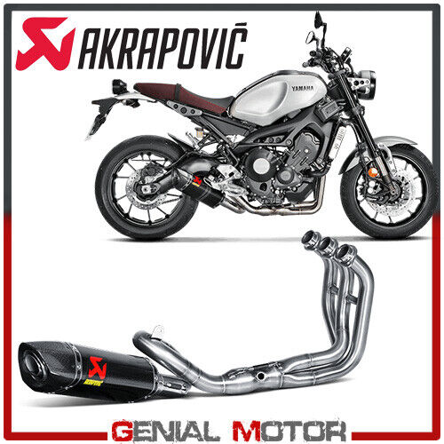 Full System Exhaust Carbon Akrapovic Racing Line for YAMAHA XSR 900 2016 > 2019