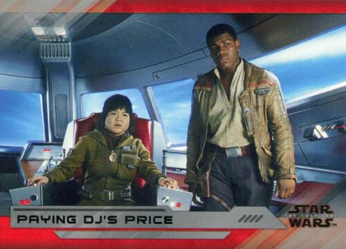 Base Card #60 Paying DJ/'s Price Star Wars Last Jedi S2 Silver 25
