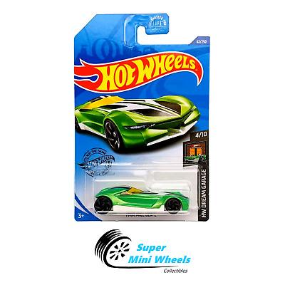 2020 HOT WHEELS /'/'HW DREAM GARAGE/'/' #62 = TWIN MILL GEN-E = GREEN int