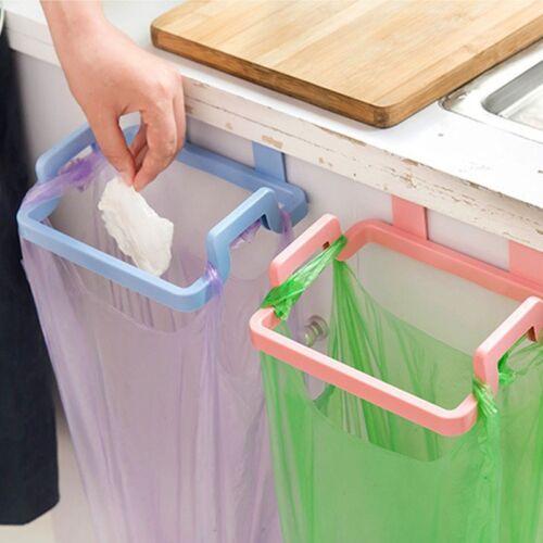 Kitchen Garbage Bag Holder Stand Rack Trash Hanging Organizer Storage Tools Seja