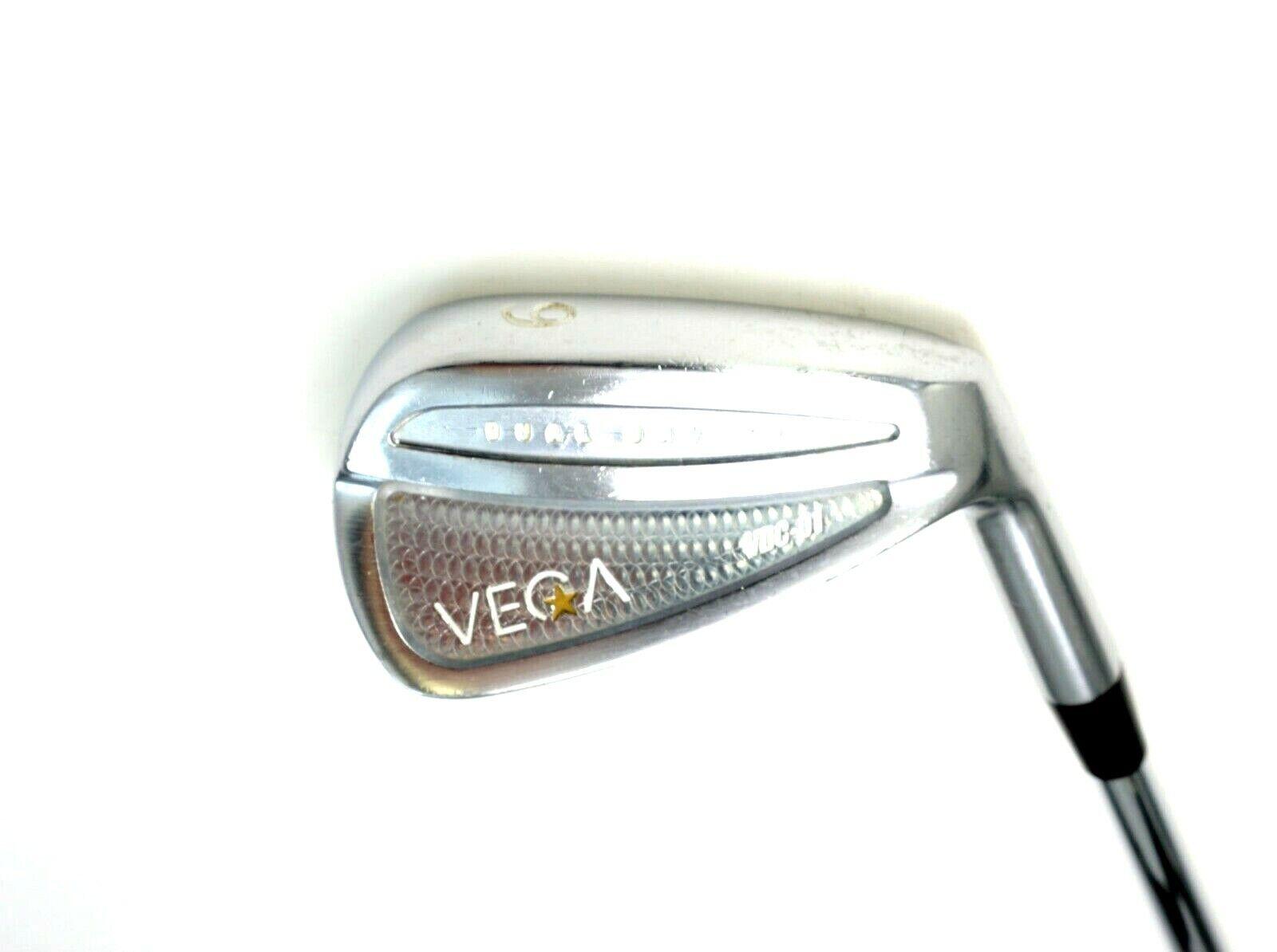 Vega VDC 01 duelo cavidad 9 Hierro Shimada Tour  Rígido Acero Eje iomic Agarre  el mas de moda