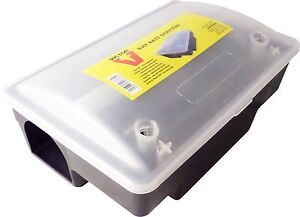 Victor Rat Bait Station Rodent Pest Control Lockable