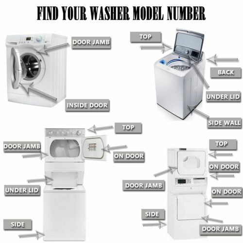 W11173361 Washer Door Bellow W10900507 WPW10474362 compatible for Whirlpool