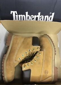 Timberland-Men-039-s-Unisex-Tan-Wheat-Nubuck-Leather-Boots-US-Size-6M-200-G-insulate