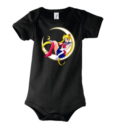 TRVPPY Baby Body Strampler Modell Sailor Moon Anime Girl Kinder Shirt