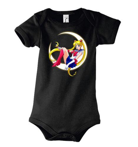 TRVPPY Baby Body Strampler Modell Sailor Moon Anime Girl Kinder Shirt