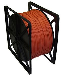 Cat5e stranded utp réseau lan pvc câble 305m 305 mètres orange pure cuivre