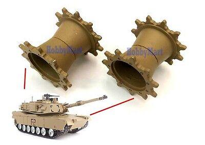 3918 HENG LONG TK-MDW3918 Metal Drive Wheel for 1:16 RC Tank Replacement x 1