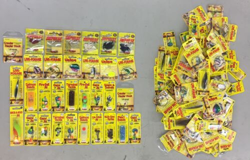 Spoons Plastics /& Hooks Lot of 144 NEW Assorted Northland Fishing Tackle Jigs
