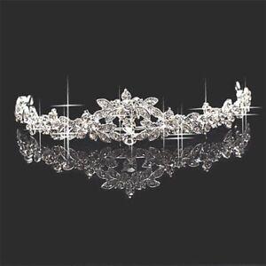 Princess-Bridesmaid-Prom-Rhinestone-Crystal-Tiara-Wedding-Headband-Headpiece