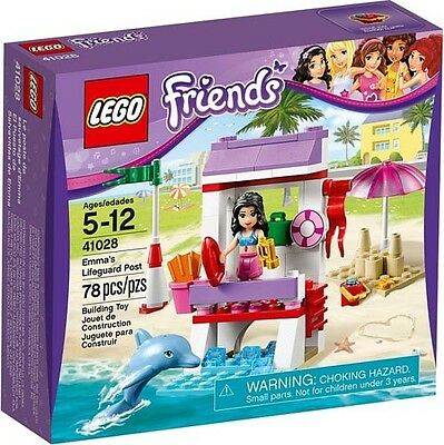 LEGO Friends 41028 mma's Lifeguard Post New In Box Sealed #41028