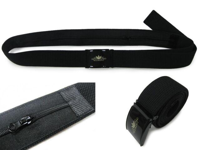 WESKENT Safe Money Belt wallet Neon travel secret pocket hidden security belt