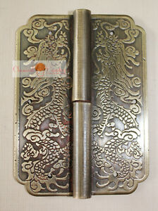 4-Hinge-Chinese-Furniture-Brass-Hardware-Trunk-Cabinet-Door-Copper-Dragon-3-15-034