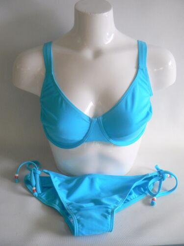 12 Slip 14 Resort Bikini Con Ferretto Non Imbottito Bikini Set 34DD//E 38A//B