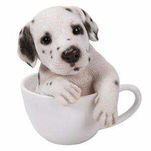 Adorable Teacup Pet Pals Puppy Collectible Figurine 575 Inches