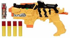 Power Rangers Dino Supercharge Battle Gear Missile Launch Morpher Toy Gun New