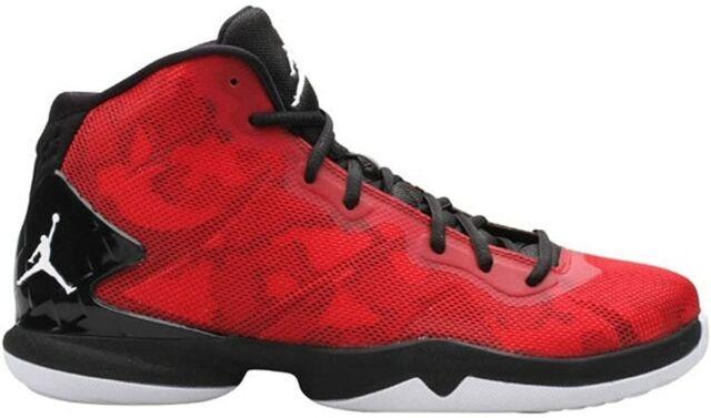 Impresionante Agacharse réplica  Nike Jordan Super Fly 4 JCRD Jacquard White Red Black *size 8* RARE Zebra  for sale online | eBay