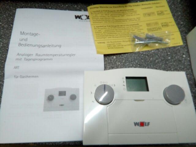 Wolf Analogique Régulateur de Température Ambiante Art Thermostat Contrôleur