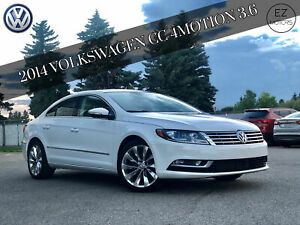 2014 Volkswagen CC 3.6 4MOTION, ONLY 40000 KMS!! ONE OWNER-ACCIDENT FREE!