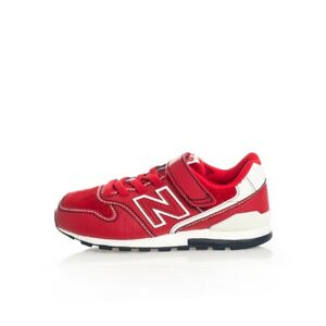 SNEAKERS-BAMBINO-NEW-BALANCE-996-LIFESTYLE-YV996BA-SHOES-KIDS-LEATHER-Rosso