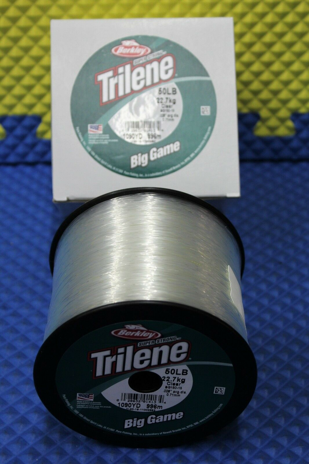 Berkley Trilene Big Game 50 LB Test 1090 YD BG150-15 Clear 1002952