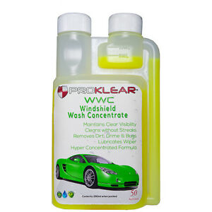 PROKLEAR-WWC-Windshield-Wash-Additive-Concentrate-250ml-Just-add-5ml-per-fill